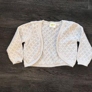 Cute cropped gold sweater